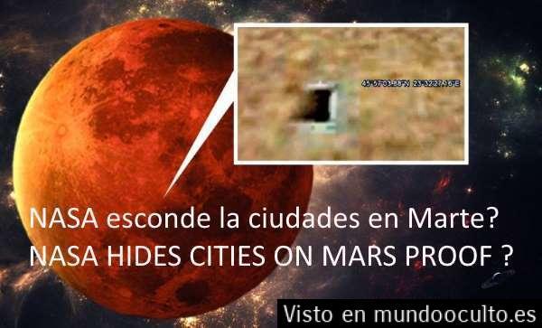 ESTRUCTURAS EN MARTE escondidas en google earth que NASA borro pero NO DEL TODO…DESCÚBRELAS AQUÍ