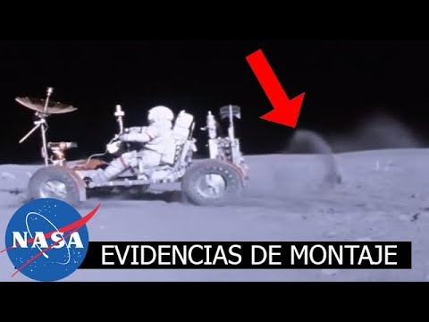 NASA EVIDENCIAS FALSIFICACION APOLLO EN LA LUNA