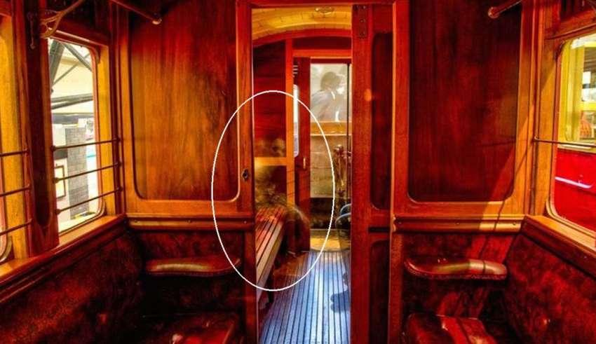 Una imagen escalofriante muestra una niña fantasma en un museo de Irlanda