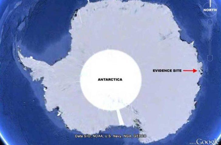 Documento de la CIA desclasificado muestra que se han divisado Ovnis Sobre la Antártida
