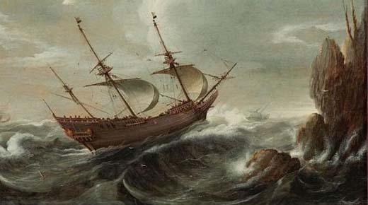 Pescadores se enfermaron después de avistar una 'batalla OVNI' en 1665