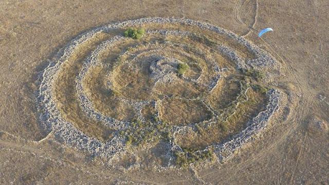 rujm el hiri - Rujm el-Hiri, ¿un monumento construido por la raza de gigantes bíblicos?