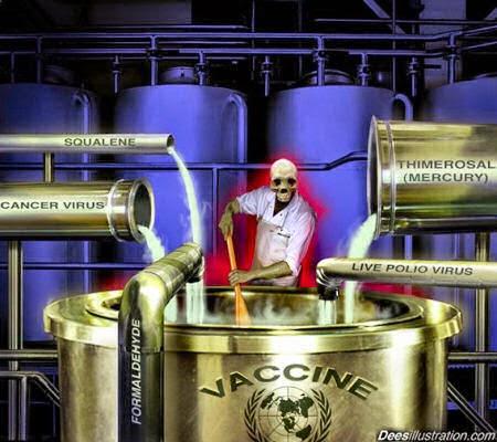 Ingredientes sucios y venenosos utilizados en las vacunas