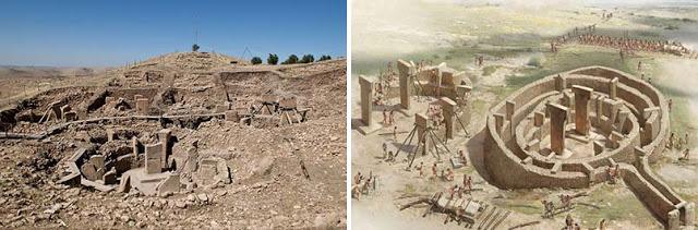 Símbolos aborígenes australianos encontrados en misterioso pilar de 12,000 años en Turquía