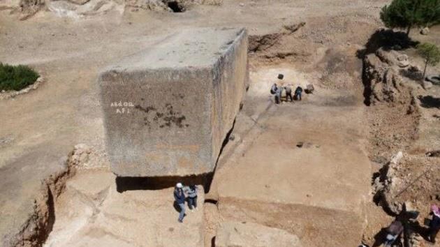 Conozca el bloque de piedra más antiguo y grande del mundo ¿Como lo hicieron?