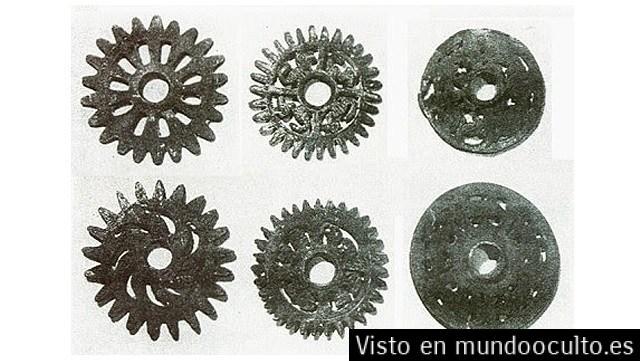 Ruedas de engranaje en el antiguo Perú ¿Oopars?
