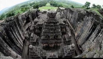 """El Imponente y misterioso templo tallado en piedra """"Templo de Ajanta"""" ¿Influencia sobrenatural en su edificación? – INDIA."""