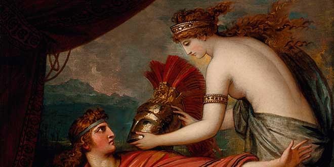 boda tetis peleo - Tetis, Peleo y el nacimiento de Aquiles