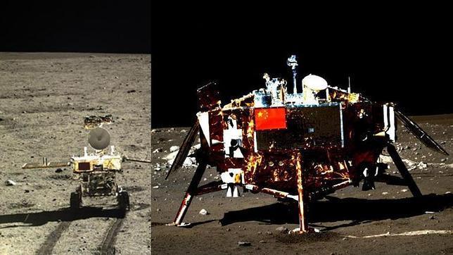 China centra su poderío espacial en la Luna