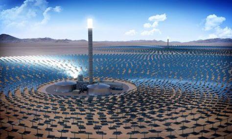 """""""Poder Solar Concentrado"""": la tecnología que promete reemplazar fuentes contaminantes de electricidad en todo el mundo"""