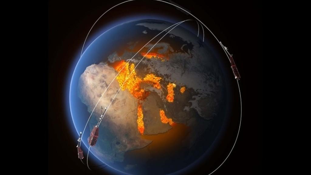 El campo magnético de la Tierra se está debilitando 10 veces más rápido