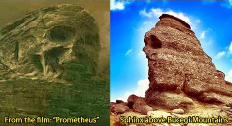 El misterio de los montes bucegi
