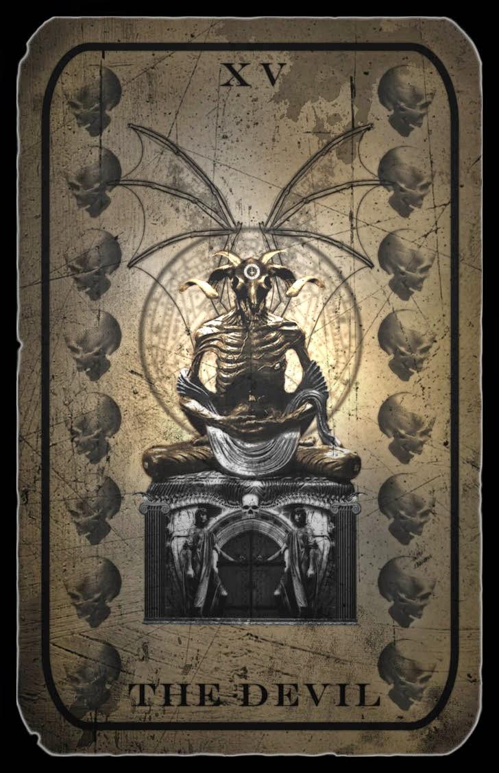 Ipes: el demonio en el Tarot.