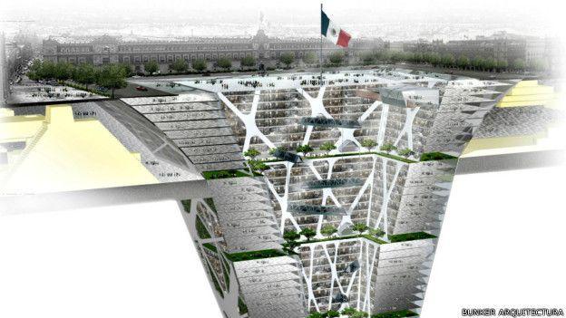 Las ciudades que quieren crecer bajo tierra