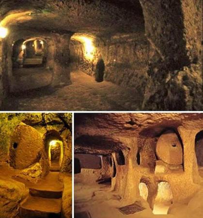 Ocultaron una ciudad subterranea de reptilianos en los Angeles?
