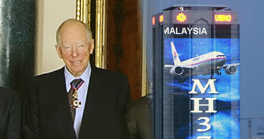 Rothschild heredó patente luego de que 4 co-propietarios desaparezcan en el MH 370