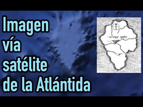 ¿Se puede ver la Atlántida desde el espacio?