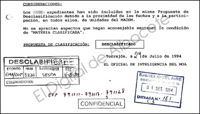 La noche que un F-1 de la Base de Albacete despegó ante la presencia de un OVNI