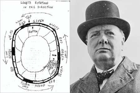 Churchill ordenó mantener ocultas las visiones de ovnis para evitar pánico
