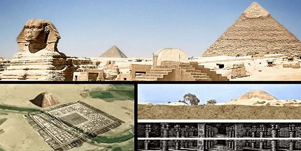 """Textos antiguos revelan: """"Existe un MUNDO debajo de las pirámides de Giza"""""""