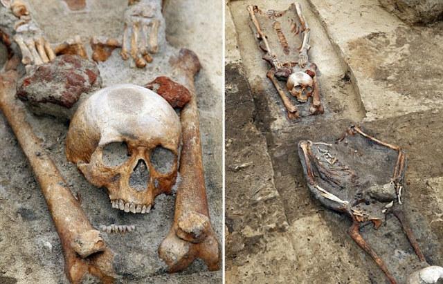 vampire graves - Gliwice, Polonia; El misterio del cementerio de los vampiros