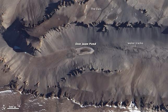¿Dónde está el lago más salado del mundo?