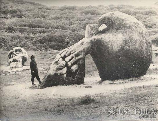 ¿se destruyeron miles esqueletos de gigantes en el 1900 - inicio