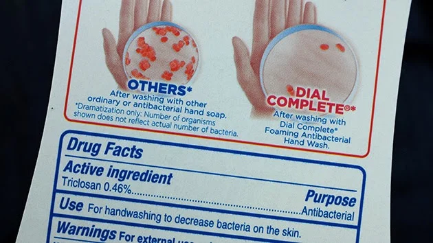 Un ingrediente del jabón puede provocar fibrosis y cáncer de hígado