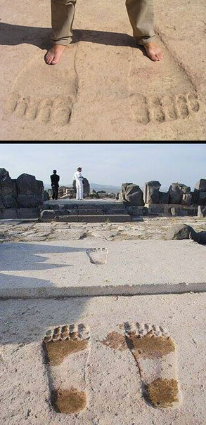 borrador automatico 138 - El misterio de las huellas gigantes en el Templo de Ain Dara