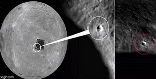 La NASA Detecta una entrada oculta en el lado oscuro de la luna?
