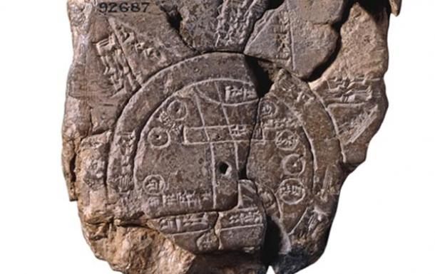 El mapa babilonio del mundo arroja luz sobre las perspectivas antiguas