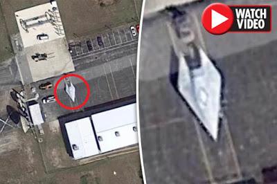 Es esta la aeronave de combate hipersónica de 4.602 mph de la USAF? Google Earth descubre misteriosa nave en Florida