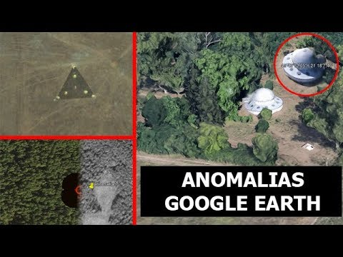INCREIBLES ANOMALIAS EN GOOGLE EARTH