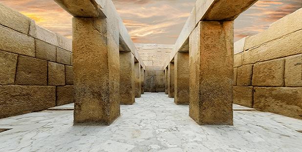 Ingeniería Imposible: Conoce las piedras 'dobladas' de un Templo cerca de la Gran Esfinge