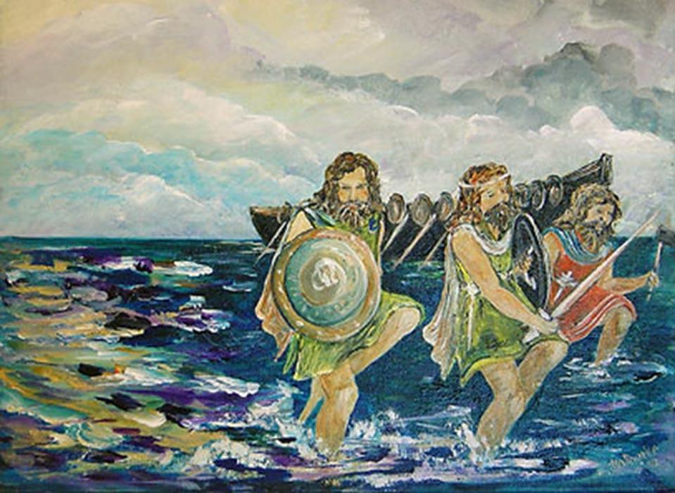 la leyenda de los milesios las raices españolas de los irlandeses - La leyenda de los Milesios: las raíces españolas de los irlandeses