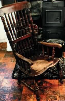 La silla maldita del Busby Stoop Inn
