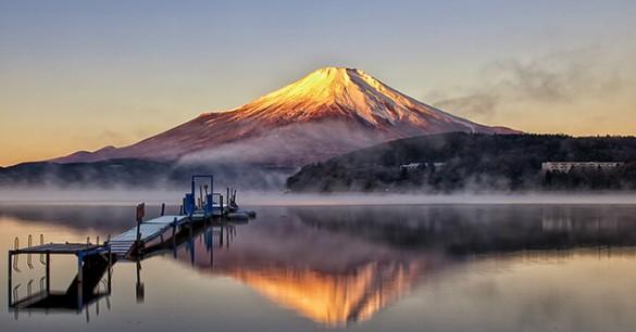 Mossie, el monstruo de los cinco lagos del Fuji