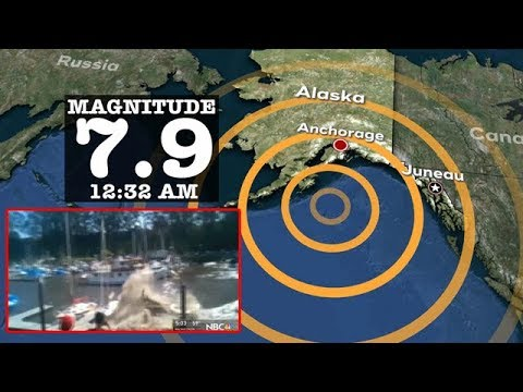 TERREMOTO EN ALASKA MAGNITUD 7.9