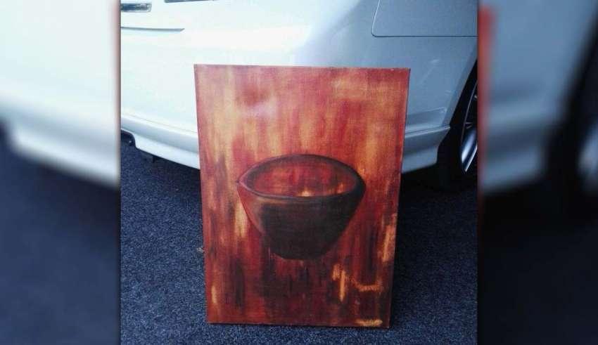 Venden una verdadera pintura embrujada que causó actividad paranormal en una casa de Nueva Zelanda