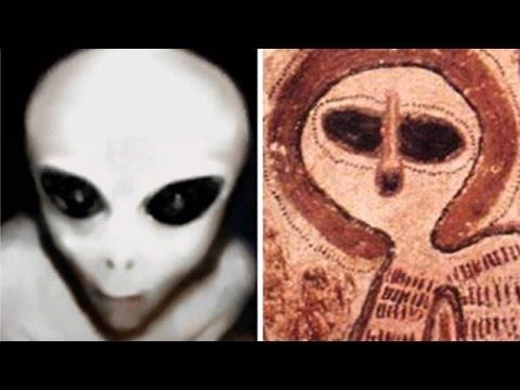 Wandjinas, extraterrestres grises en la prehistoria
