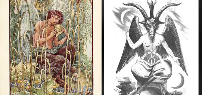 ¿sabias que la imagen del diablo viene del dios pan 2 - ¿Sabías que la imagen del diablo viene del dios Pan?