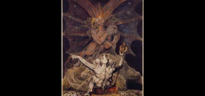 """10 Títulos del diablo, como """"Príncipe de las tinieblas""""."""