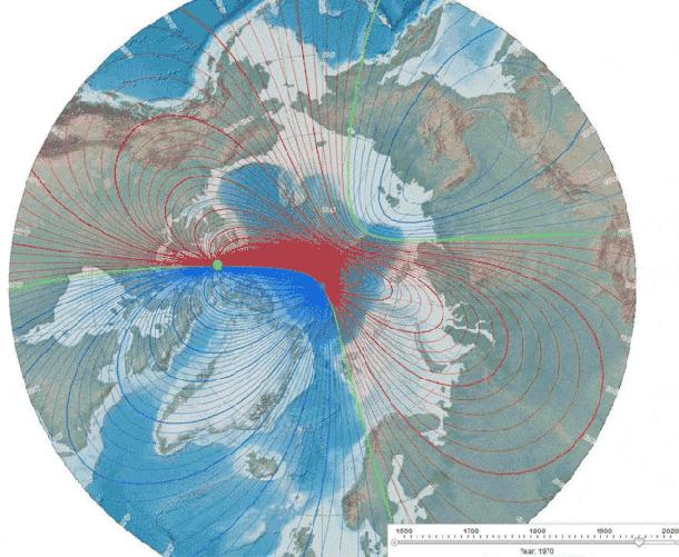 15174706947181081477351056935359 - El Polo Norte y el Polo Sur podrían estar cerca de intercambiar posiciones