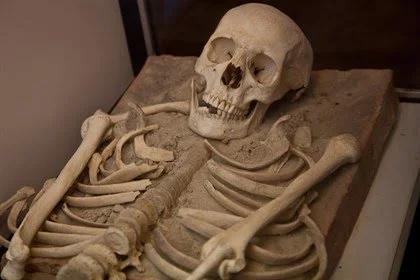El esqueleto humano se hizo más ligero hace menos de 12.000 años