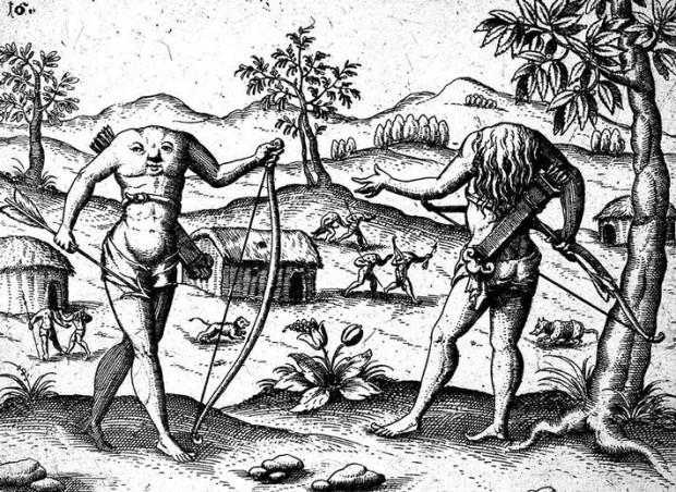 Blemmyae: Los hombres sin cabeza