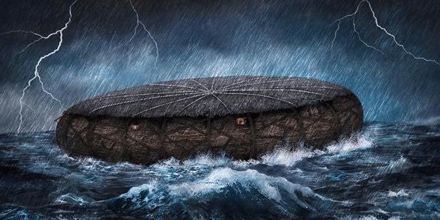 Descubren antiguos planos del Arca de Noé donde revelan que el arca era redonda