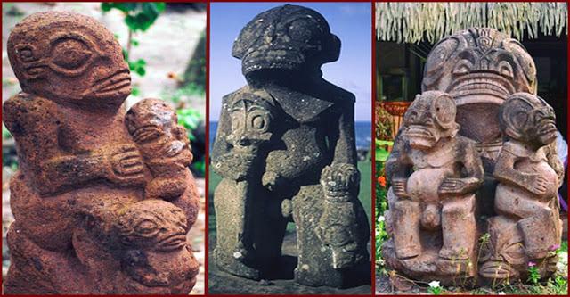 Las misteriosas estatuas de Temehea Tohua.