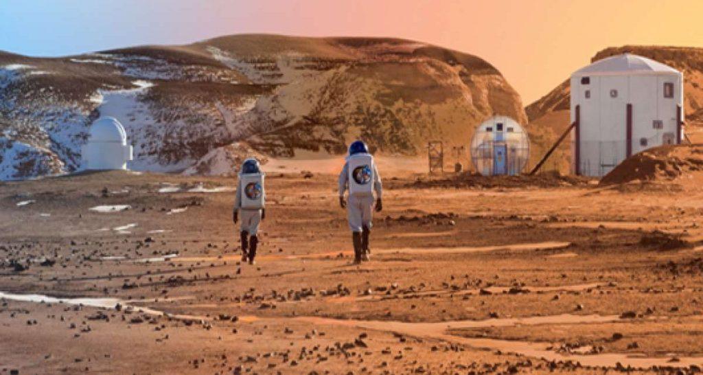 En 20 años ¿vuelos comerciales a Marte?