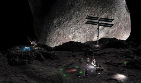 Las intenciones de China de comenzar a minar los asteroides