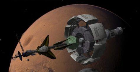 """Cómo llegar a Marte? La propuesta de una """"Nave de Ciclo Marciana"""""""